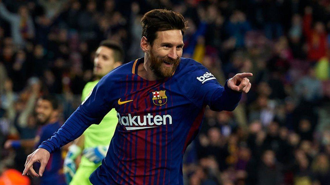VIDEO: Messi tardó poco más de 10 minutos para hacer su primer gol del 2018