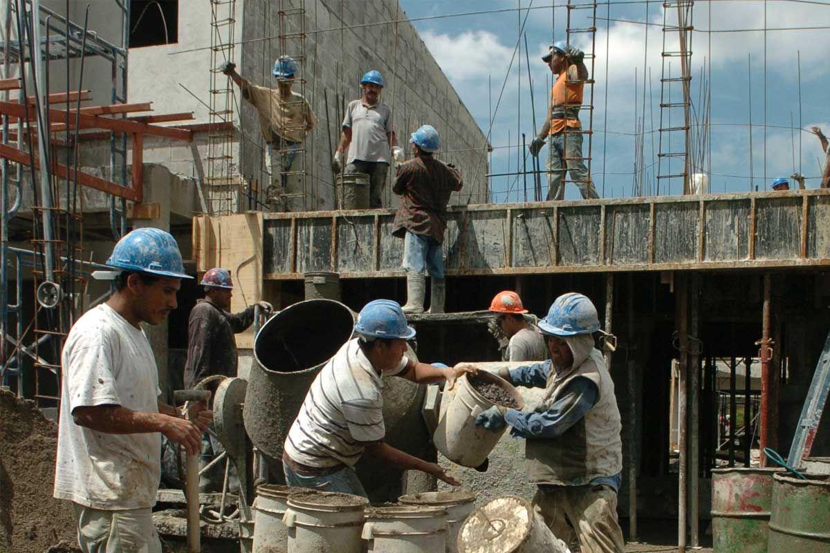 La construcción cayó en septiembre 4,2%, la peor baja en más de un año y medio