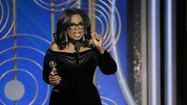 Oprah Winfrey en los Globos de Oro