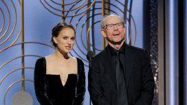 Natalie Portman y Ron Howard