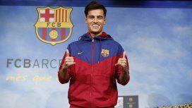 El flamante refuerzo estrella del Barcelona llegó lesionado y será baja por 20 días