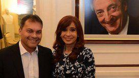Walter Festa, intendente de Moreno y Cristina Kirchner, senadora por Unidad Ciudadana