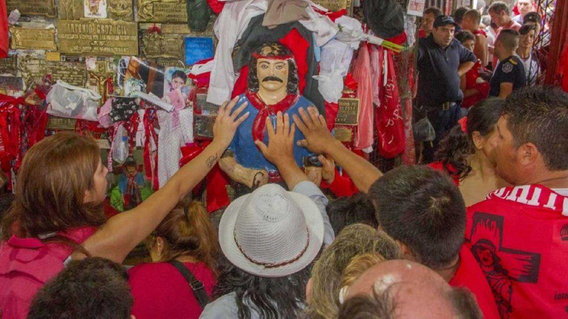 Un hombre fue apuñalado durante la celebración en honor al Gauchito Gil