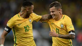 Gorrita y pelo largo: la inédita foto de Neymar y Coutinho cuando eran nenes