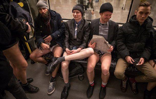 En Alemania, Berín, también se sacaron los pantalones