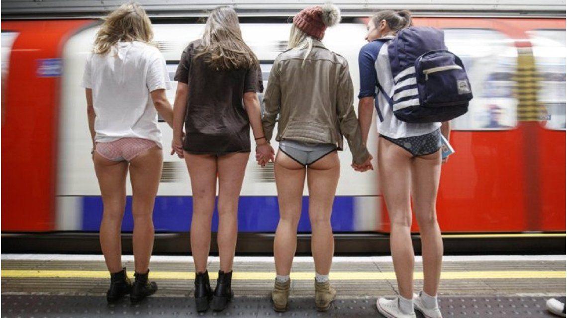 VIDEO: Así fue el día sin pantalones en el subte alrededor del mundo