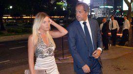 Gisela Berger y Daniel Scioli