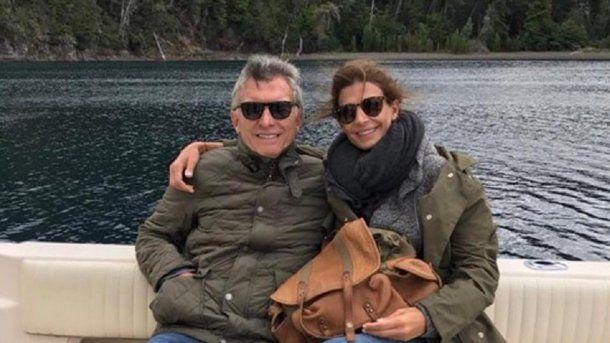 Mauricio Macri de vacaciones con Juliana Awada<br>