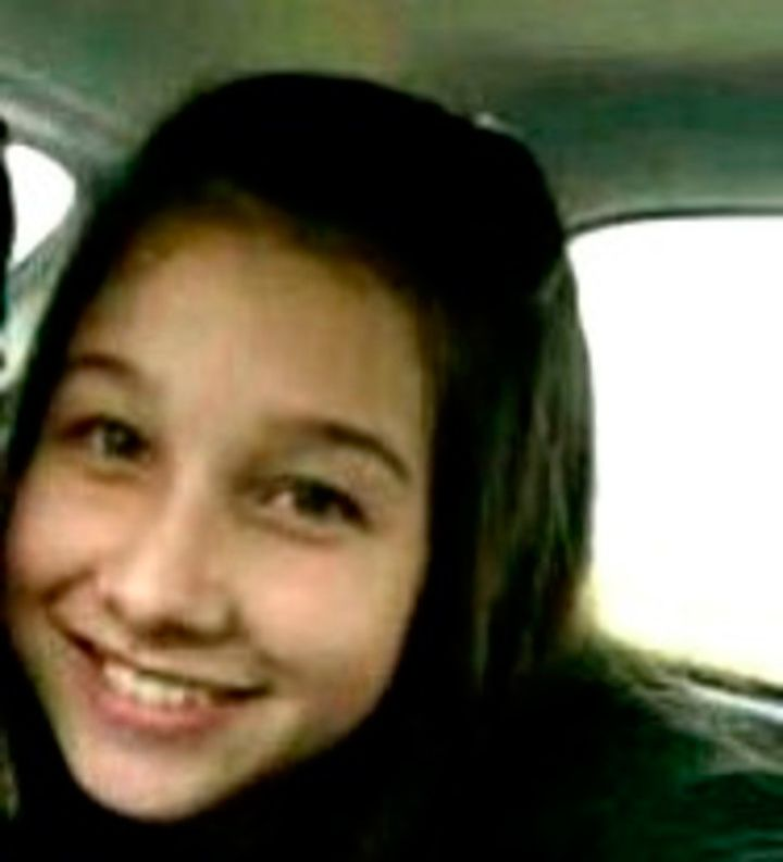 Nahir a sus 11 años