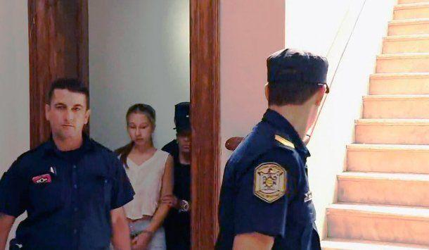 Nahir Galarza declaró dos veces en el mismo día antes de quedar detenida