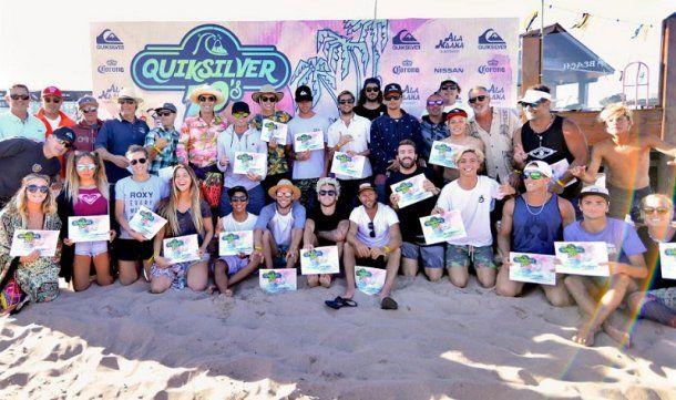 Los de antes y los de hoy, todos los surfistas se juntaron un día (foto: Maxi Bendahan)