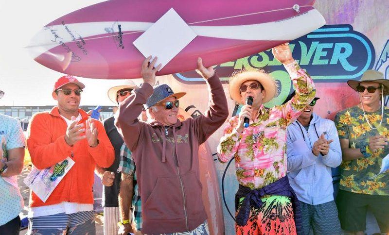 Los años 70 volvieron a Mar del Plata con una verdadera fiesta del surf