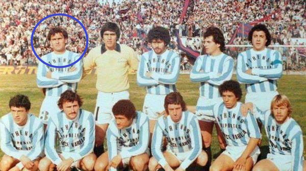 Adalberto Magallán en Argentino de Quilmes