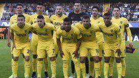 Una de las formaciones de Boca más habituales de 2017 antes de las lesiones de Gago y Benedetto