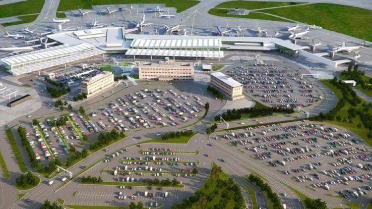 La concesionaria del aeropuerto presentó una promoción para el estacionamientos de larga estadía.