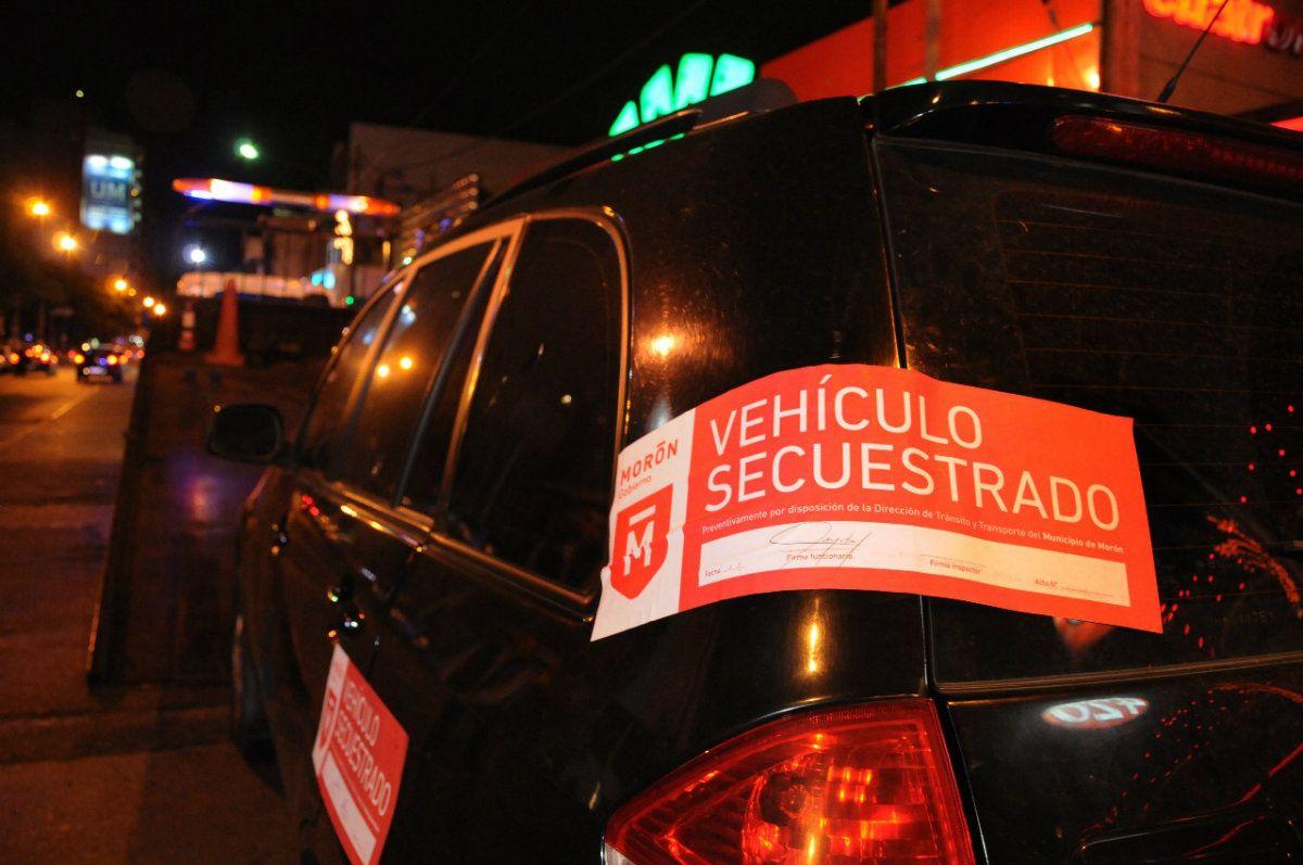 Además se secuestraron 5 mil vehículos por irregularidades en sus papeles