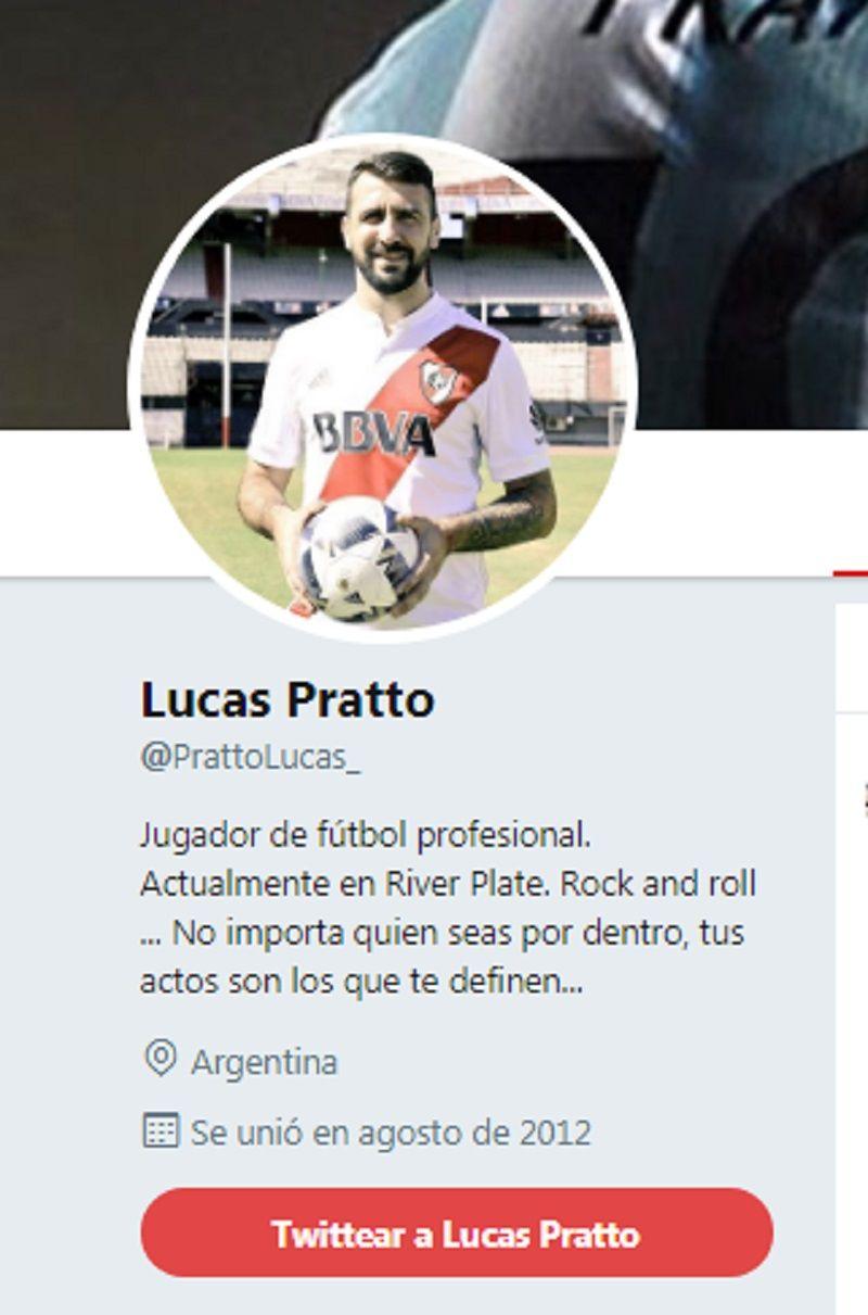 La presión de hinchas de River obligó a Pratto a cambiar sus redes sociales