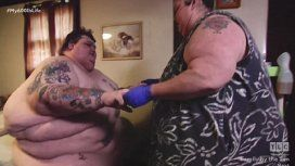 Perdieron 260 kilos entre los dos y pudieron tener sexo por primera vez en 11 años