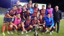 El festejo de San Lorenzo con la Copa de Verano 2018