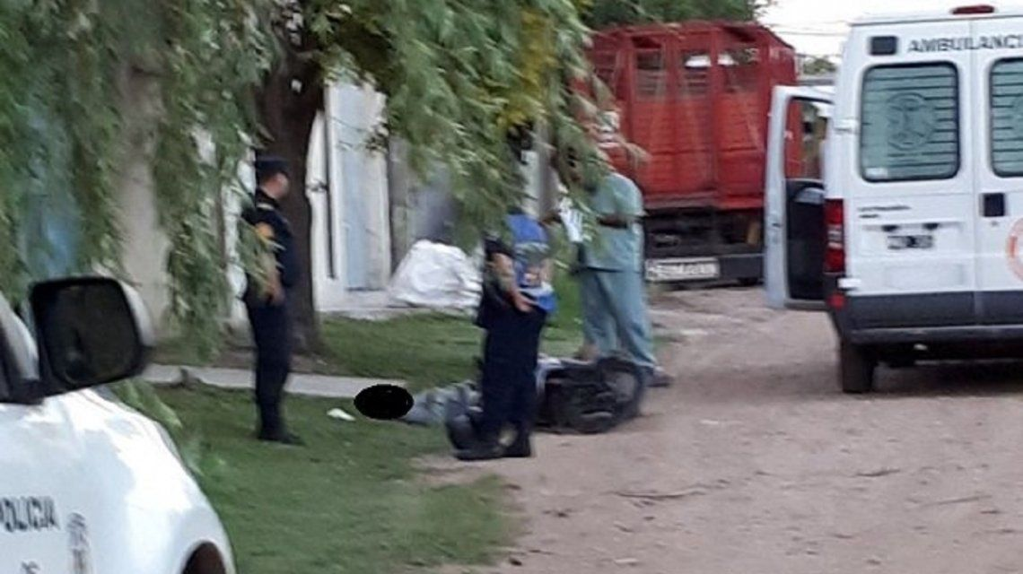 Escena del crimen de Fernando Pastorizzo