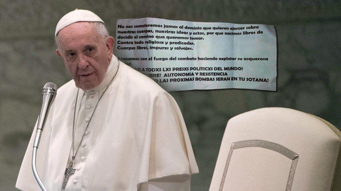 Tensión a días de la visita del papa Francisco a Chile: amenazas y explosivos en iglesias