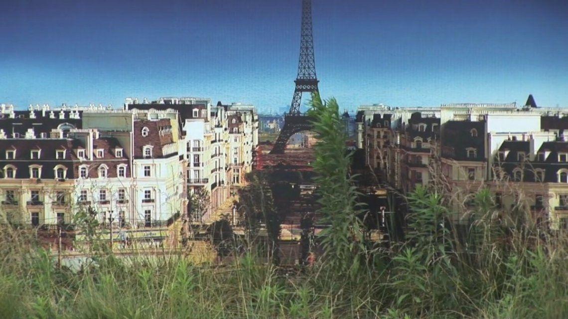 Alguien se esforzó en serio por tener una París china