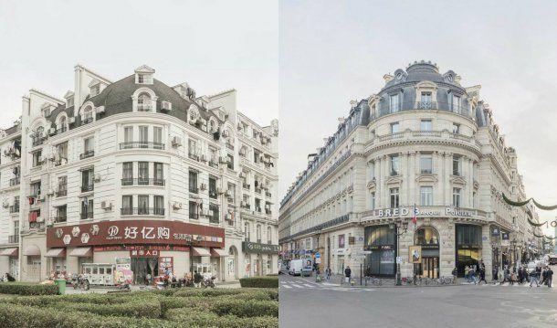 Tianducheng tiene los mismos lugares populares de París