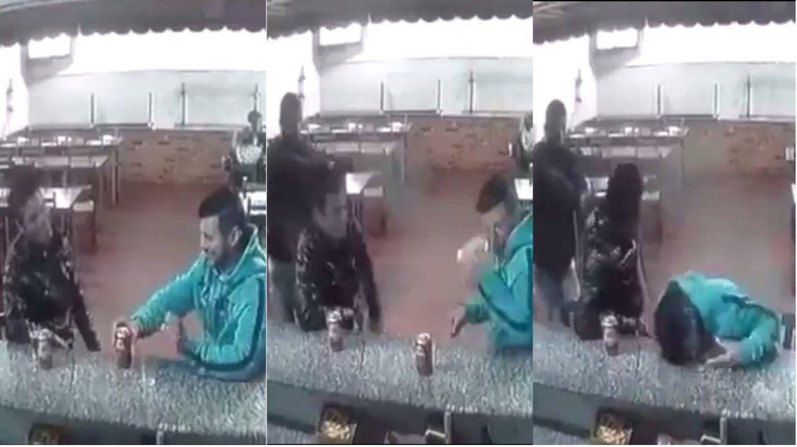 Lo fusilaron a quemarropa en una pizzería