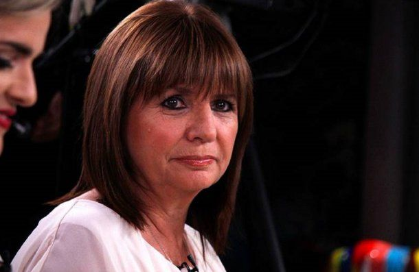 <div>Patricia Bullrich habló sobre el caso Maldonado. (@MirthaLegrand).</div>