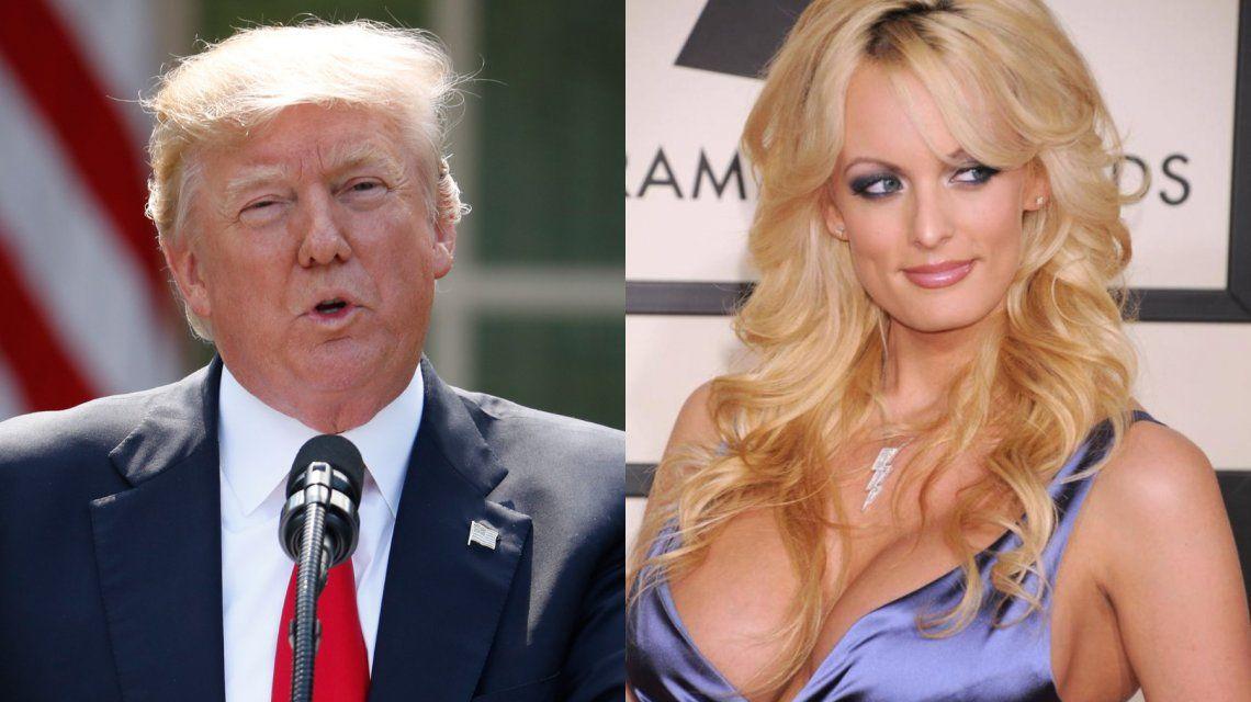 Una buena para Trump: suspendieron la demanda de la actriz porno