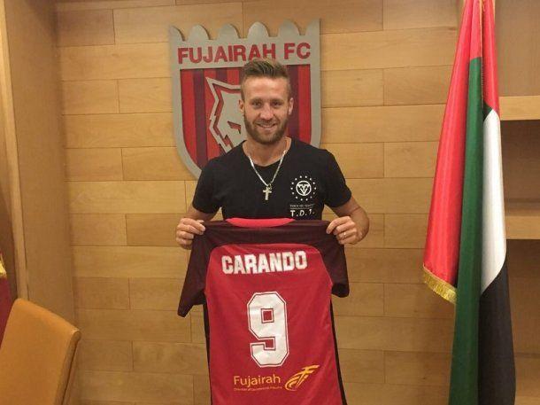 La felicidad del jugador nacido en Córdoba con su nueva camiseta