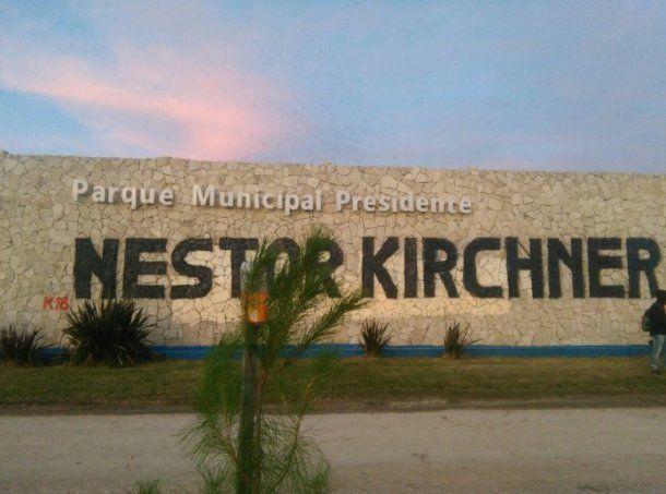 Parque Municipal Kirchner - Crédito: @CoteRossiOk