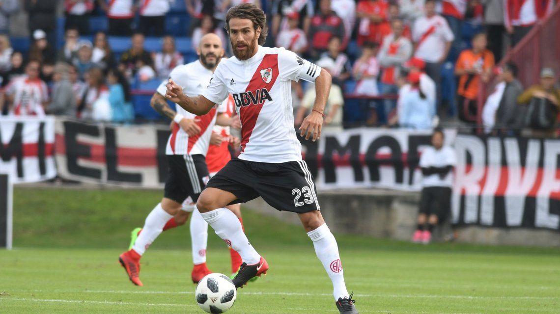 Un River titular cayó ante Independiente Santa Fe