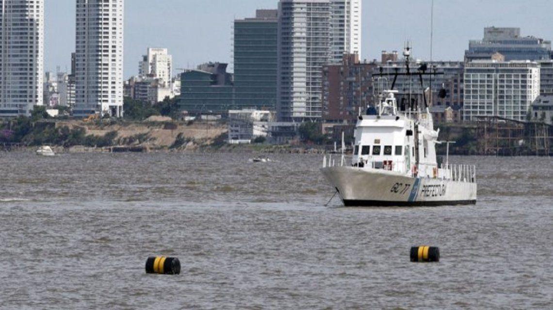 Prefectura Naval busca a Pablo Zárate