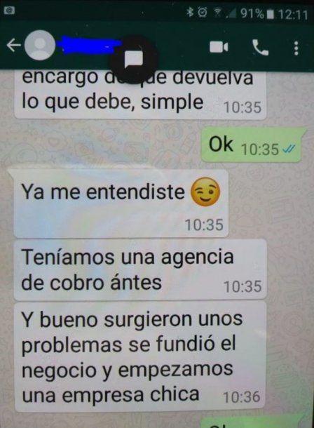 <p>Los mensajes de WhatsApp que complican al principal acusado</p><p></p>