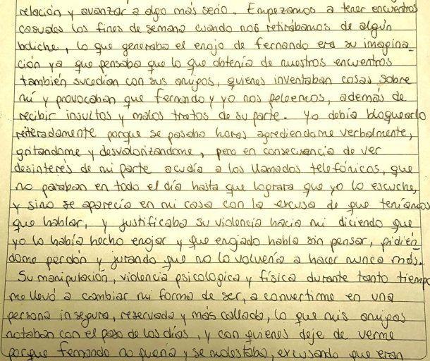 Diario de Nahir Galarza