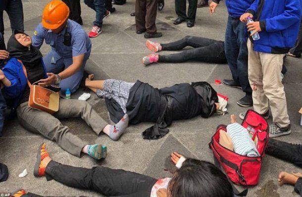 <p>80 personas resultaron heridas</p>