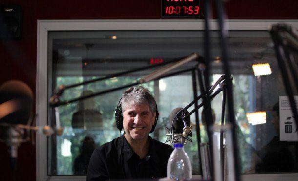Amado Boudou en Radio del Plata<br>