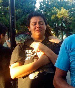 La bronca de la mamá de Abril: Buscaban drogas en vez de a mi hija