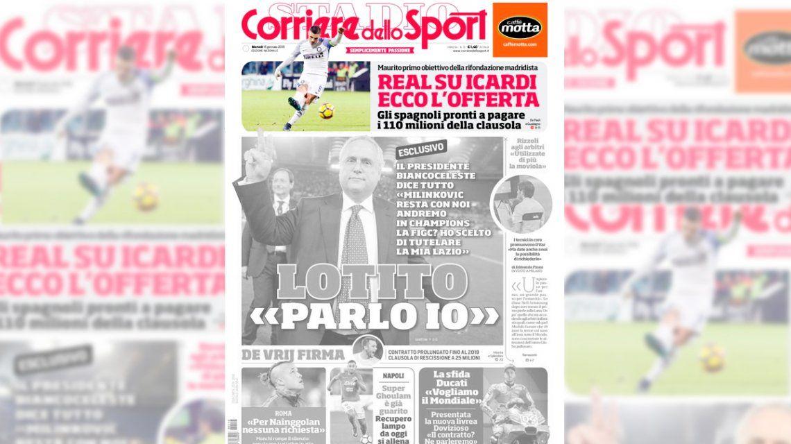 El Real Madrid va por Icardi