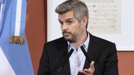 Marcos Peña dio una conferencia de prensa desde Casa Rosada