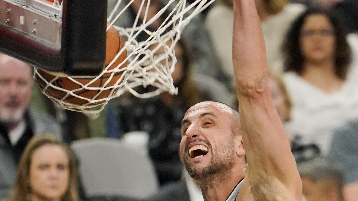 Cerró la votación: ¿cuándo se sabrá si Ginóbili llega al Juego de las Estrellas de la NBA?