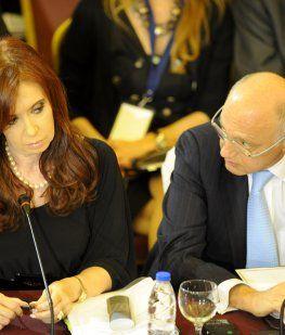 Cristina Kirchner y Héctor Timerman
