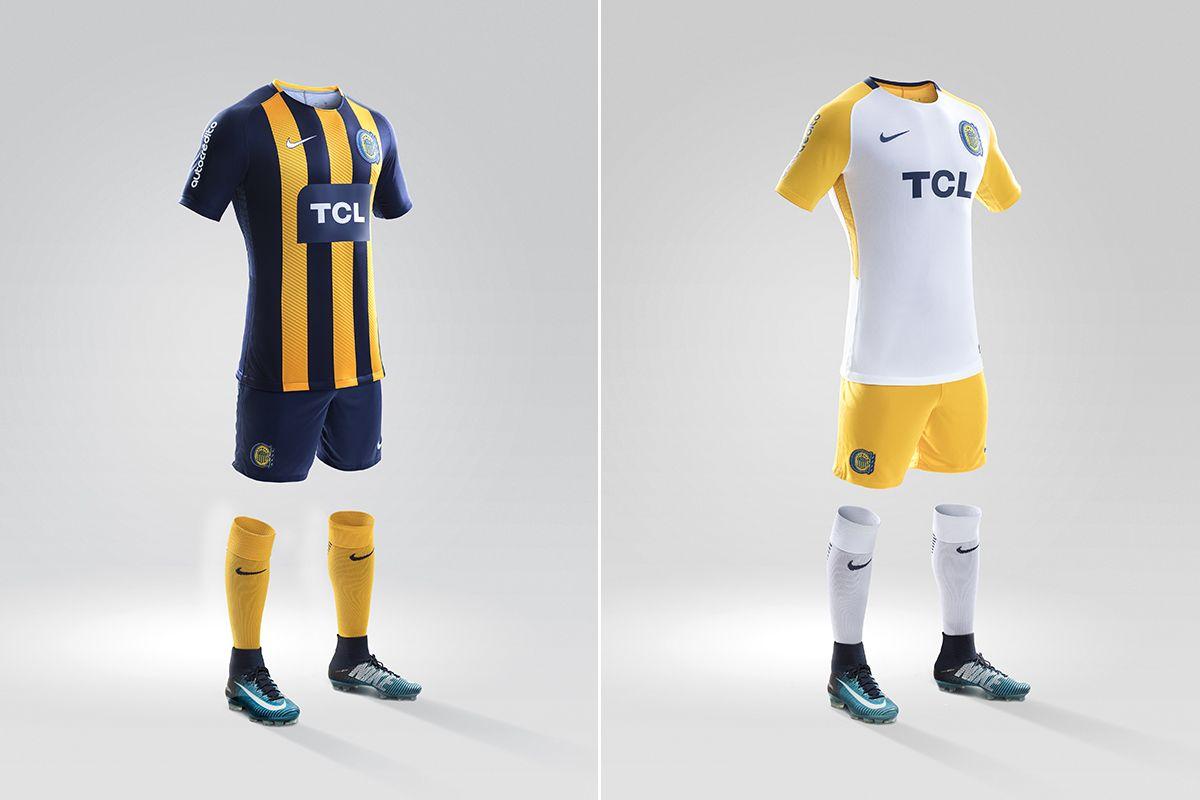 ¡De lujo! Rosario Central presentó sus nuevas camisetas para 2018