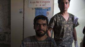 Joaquín Santos estuvo diez días en el Cerro Tronador