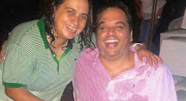 Sandra Heredia y el ministro Jorge Triaca