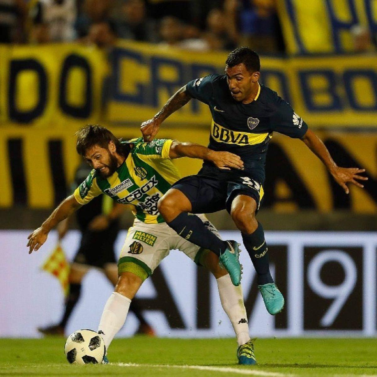 Tevez vuelve a jugar en Boca tras un año en el fútbol de China