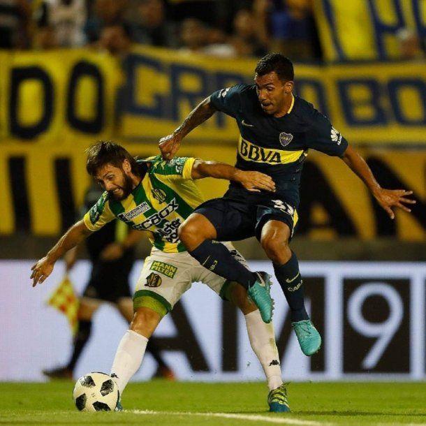 Tevez vuelve a jugar en Boca tras un año en el fútbol de China<br>