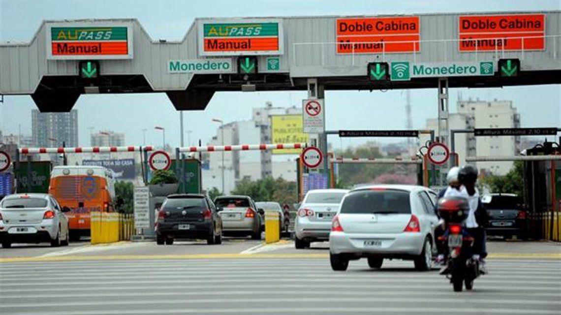 Autopista Riccheri: el peaje en horario pico se cobrará en ambos sentidos de circulación