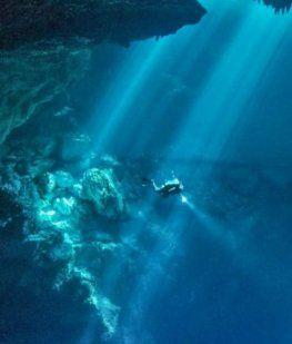 Encontraron en Tulum la mayor cueva sumergida